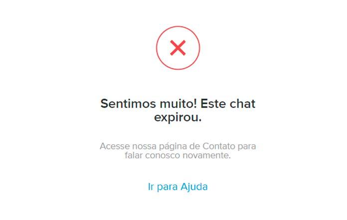 Chat Expirado Mercado Pago